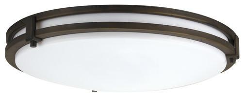 "Lithonia Lighting Fmsatl 13 14840 M4 Saturn 13"" Flush Mount Led Ceiling Fixture."