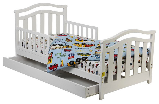Dream On Me Elora Collection Toddler Bed With Storage