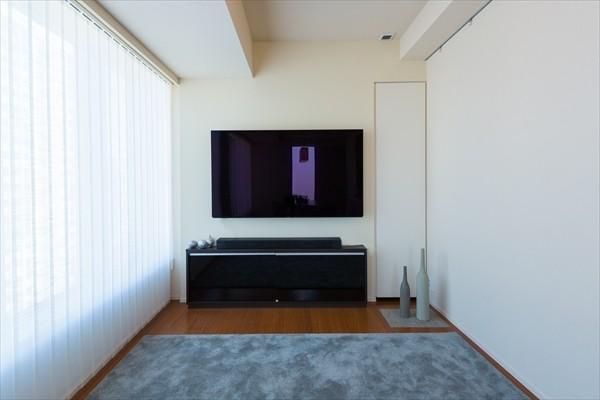 東京タワー等都心の絶景を愉しむ高層マンションのリノベーション 設計:株式会社ケノス