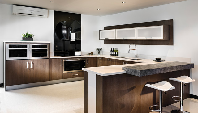 Ribbon Range Contemporary Kitchen Perth By Kitchen Craftsmen