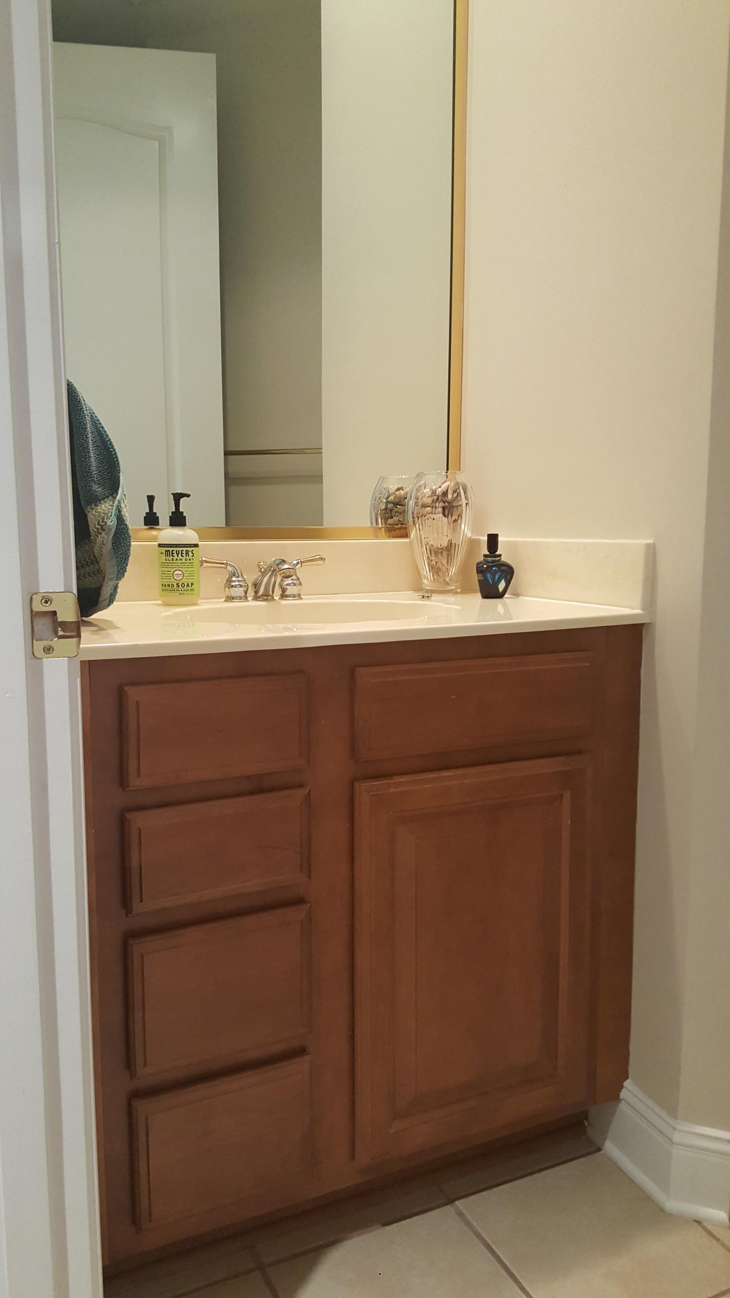 Original vanity and mirror