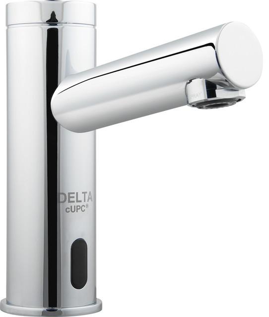 Delta demd 301lf 0 5 gpm electronic bathroom faucet - Delta contemporary bathroom faucets ...