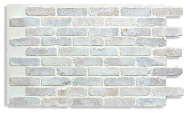 Faux Brick Panels 28 Cotton Farmhouse Siding And Stone Veneer By Antico Elements