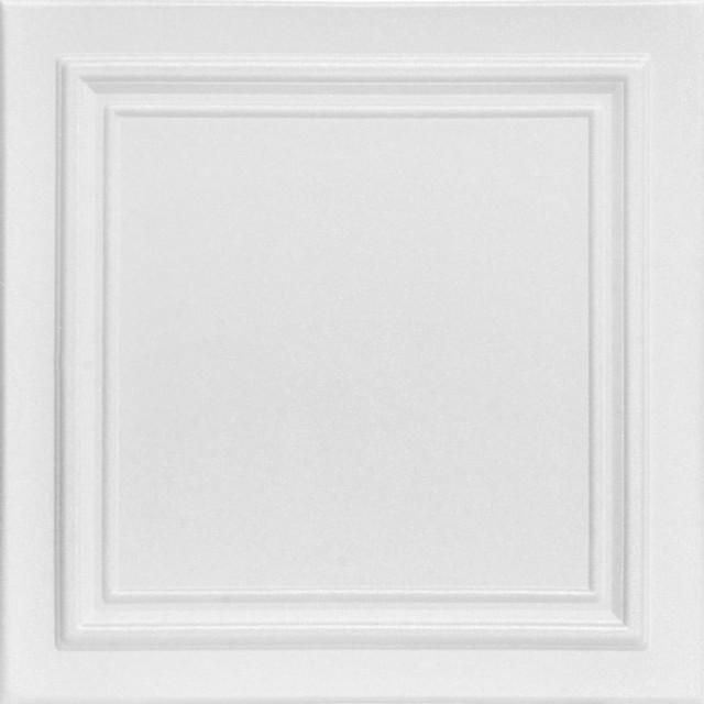 """Line Art, Styrofoam Ceiling Tile, 20""""x20"""", #R 24"""