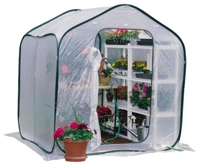 Flowerhouse 6&x27; Portable Springhouse Greenhouse Fhsp300.