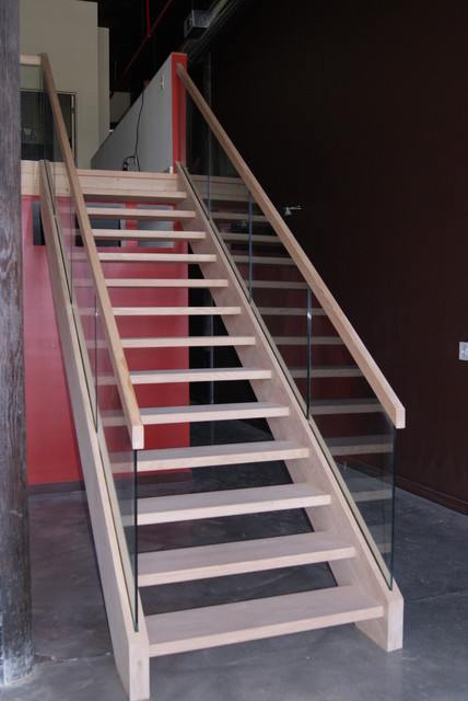 Open Rise Stairs Modern Staircase Atlanta By