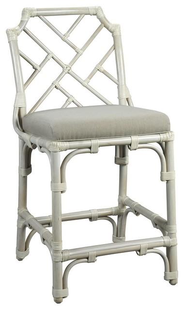 Kenian Palm Beach Chippendale Counter Chair Bar Stools