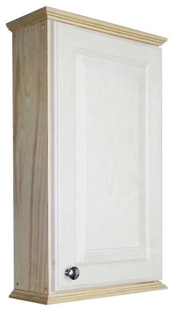 Asheville Series On-The-Wall Cabinet - Farmhouse - Medicine Cabinets - by WG Wood Products