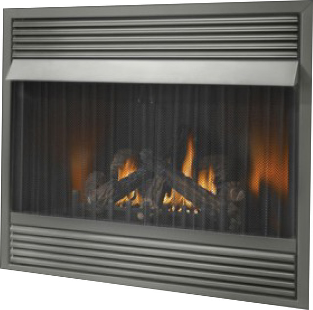 "Napoleon 42"" Vent Free Natural Gas Fireplace With 30 000 Btu&x27;s."