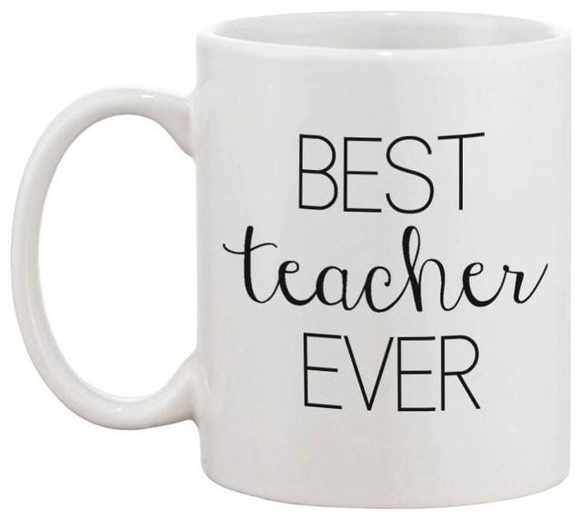 Shop Houzz 365 Printing Inc Best Teacher Ever 11 Oz