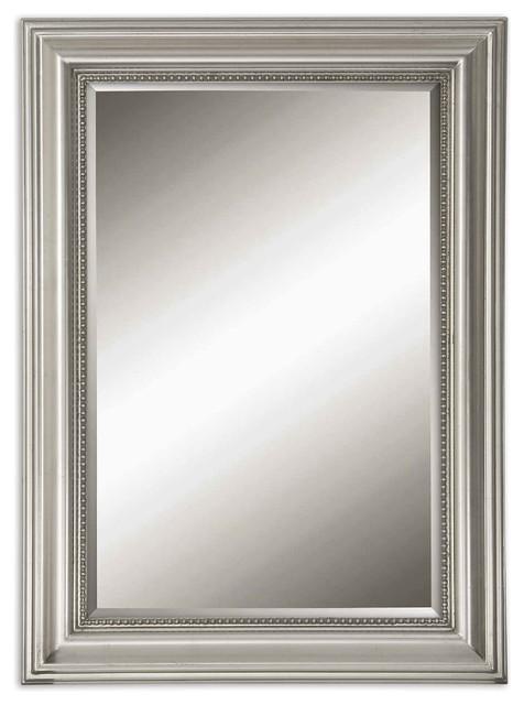 Uttermost Stuart Silver Beaded Mirror.