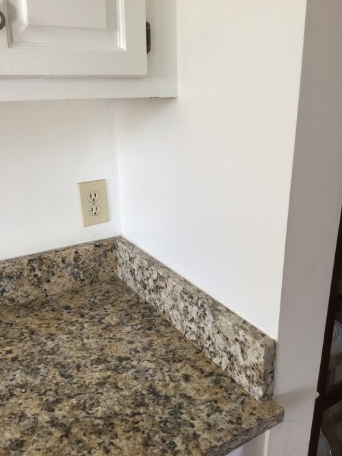 Backsplash Advice Where To End Tile With Regards To Corner