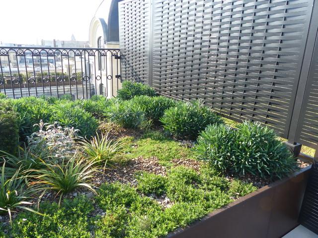 S paration aluminium tr ss sur mesure terrasses balcons - Separation de terrasse ...