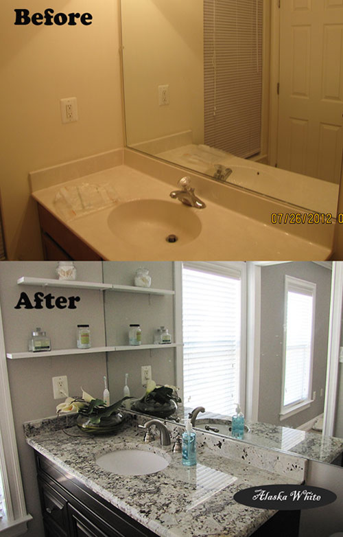Small Bathroom Before And After