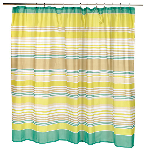 Carnation Home Fashions Extra Wide Brighton Fabric Shower