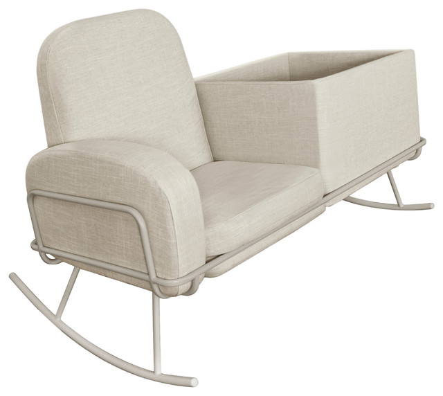 Ami Bassinet Rocker Contemporary Rocking Chairs By