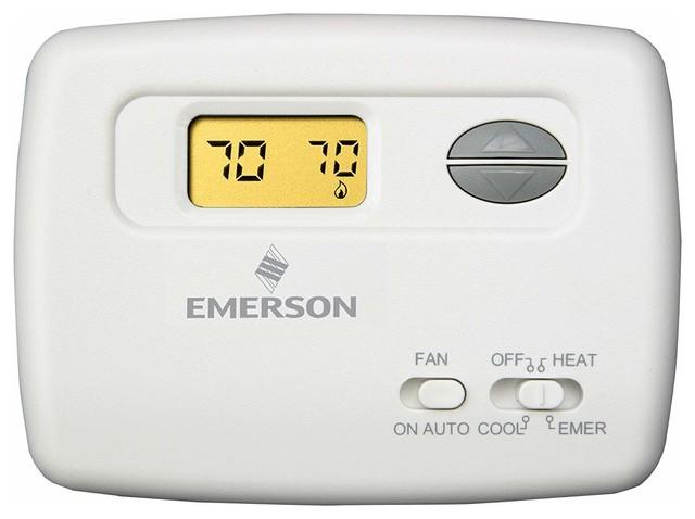 Emerson Comfort Set Thermostat.