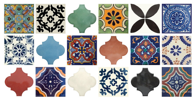 Moroccan inspired tiles traditional tile melbourne by perini