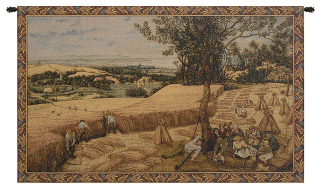 Harvest I Italian Wall Hanging Tapestry Farmhouse Tapestries By European Wall Art
