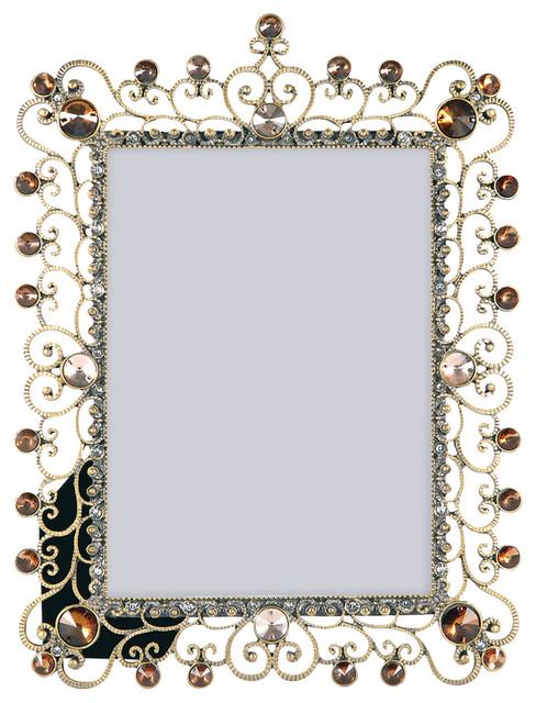Pomeroy Aslan 5x7 Bronze Frame Mediterranean Picture Frames
