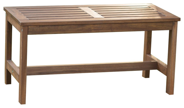 Amazing 3 Ft Outdoor Backless Garden Bench In Dark Brown Wood Finish Dailytribune Chair Design For Home Dailytribuneorg