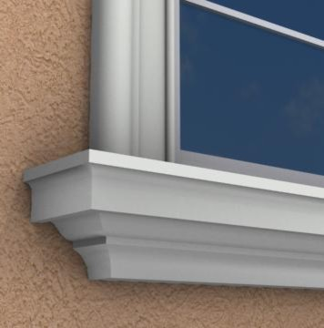 MX207   Exterior Window Sills Molding And Trim Part 43