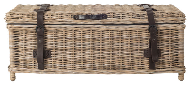 Navarro Rattan Coffee Table Trunk