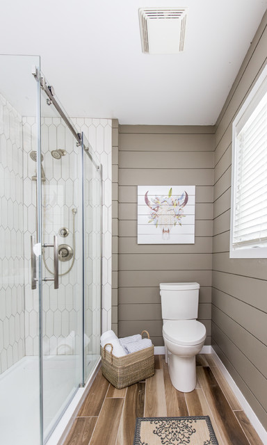 Small Bathroom Remodel Grey Powder Rooms