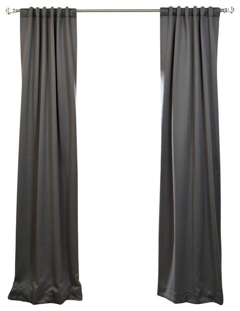 Exclusive Fabrics & Furnishings, LLC Anthracite Grey Blackout ...