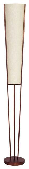 Dainolite 2-Light Emotions Floor Lamp, Oil Brushed Bronze.