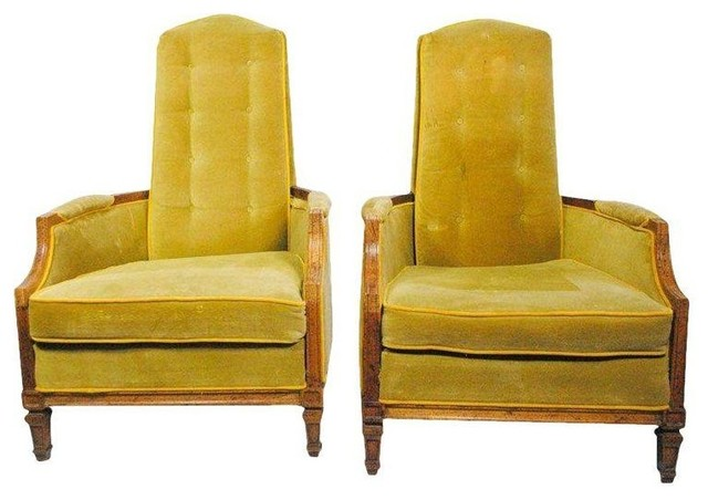 Pre-owned American of Martinsville High Back Chairs