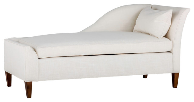 Gabby shannon left arm facing chaise lounge transitional for Bathroom chaise lounge