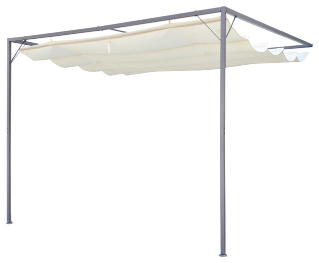 Vidaxl Garden Patio Awning Sun Shade Canopy Wall Gazebo.