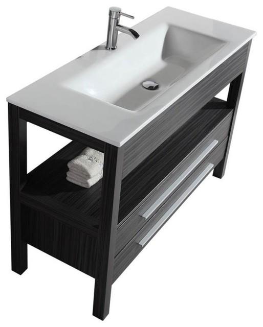 2-Piece Floor Standing Vanity Set.
