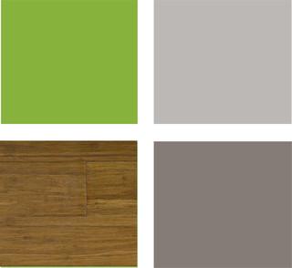 Dormitorios en verde estudio y dise o for Color gris verdoso paredes