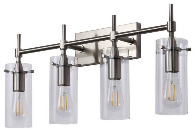Effimero 4 Light Wall Sconce Transitional Bathroom Vanity Lighting By Linea Di Liara