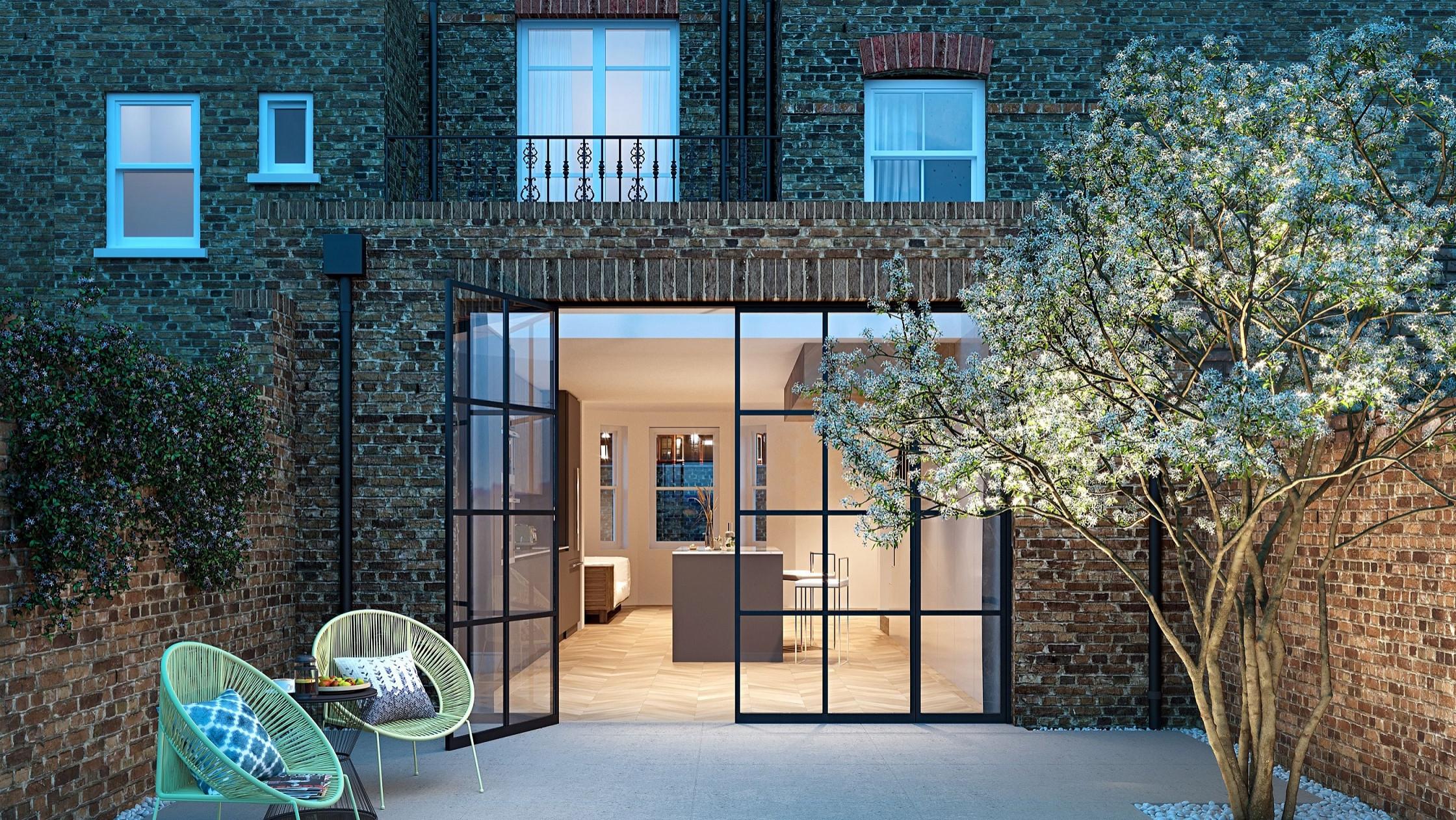 Hampstead house - Option 2