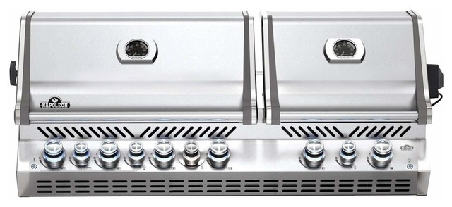 Prestige Pro 825 Built-In Grill With Ir Rotisserie, Natural Gas.