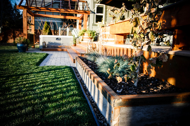 Outdoor living altro di backcountry builders llc for Case in stile williamsburg
