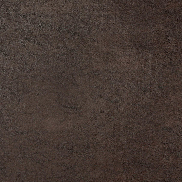 Brown Shiny Upholstery Faux Leather By The Yard