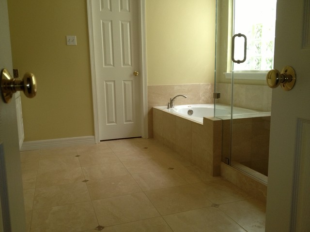 Master Bath Remodel in Austin Tx Contemporary Bathroom
