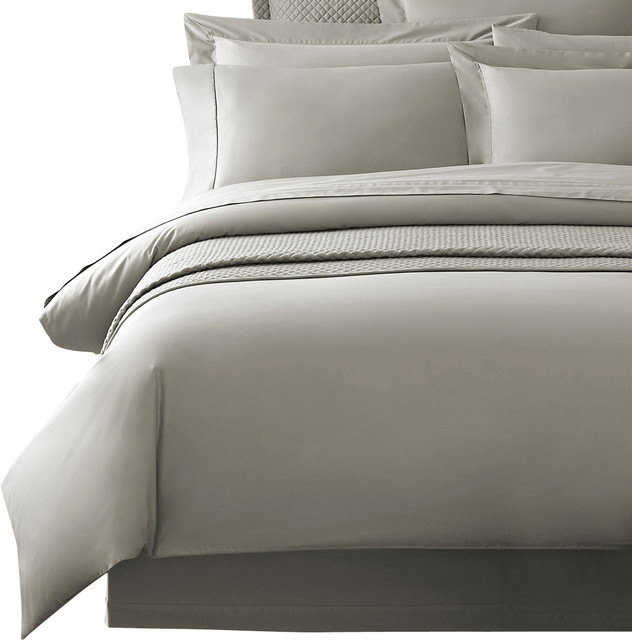 delano organic duvet cover king gray