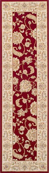 Tashkent 2330-R Runner, Red, 68x235 cm