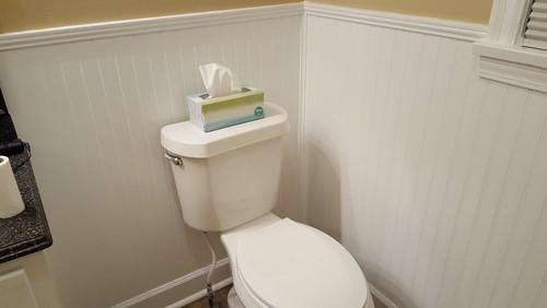 where should i install my toilet paper holder. Black Bedroom Furniture Sets. Home Design Ideas