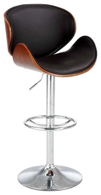 Oversized Pneumatic Swivel Stool Contemporary Bar