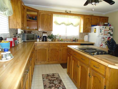 Should I Paint My Kitchen Cabinets Enchanting Should I Paint My Custom Solid Wood Kitchen Cabinets Decorating Inspiration