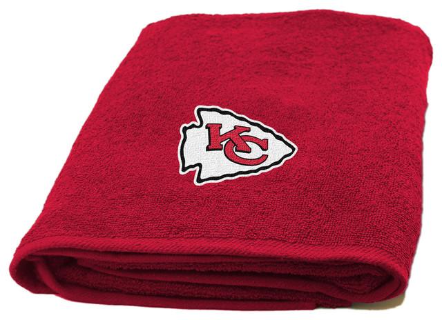 Chiefs Applique Beach Towel.