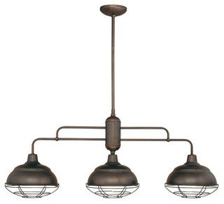 Millennium Lighting Neo Industrial Island Light Industrial Kitchen Island Lighting By