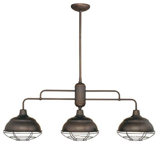 Millennium Lighting Neo-Industrial Island Light - Beach Style - Kitchen Island Lighting - by ...