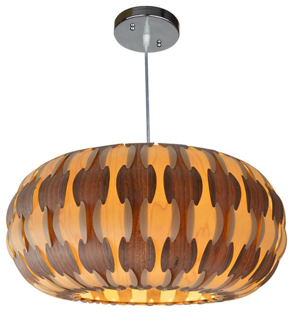 pamela wood pendant lamp